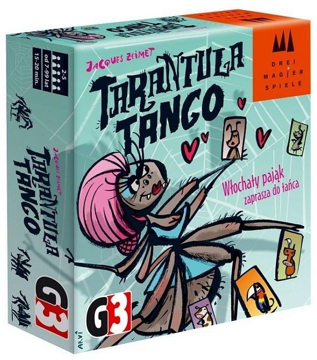 DMS: Tarantula tango G3 ZAKŁADKA DO KSIĄŻEK GRATIS DO KAŻDEGO ZAMÓWIENIA