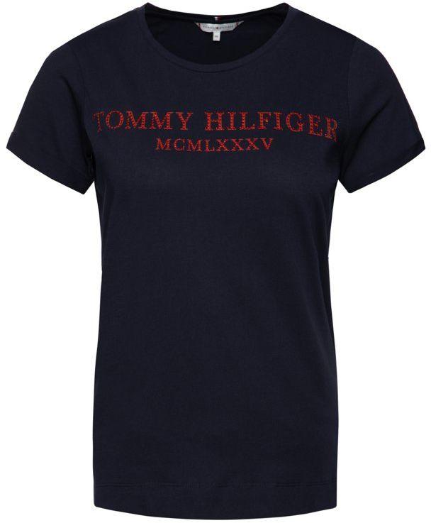 T-Shirt TOMMY HILFIGER Kristal WW0WW25912