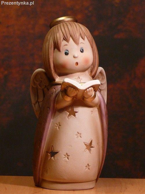Śpiewający Aniołek Świecznik