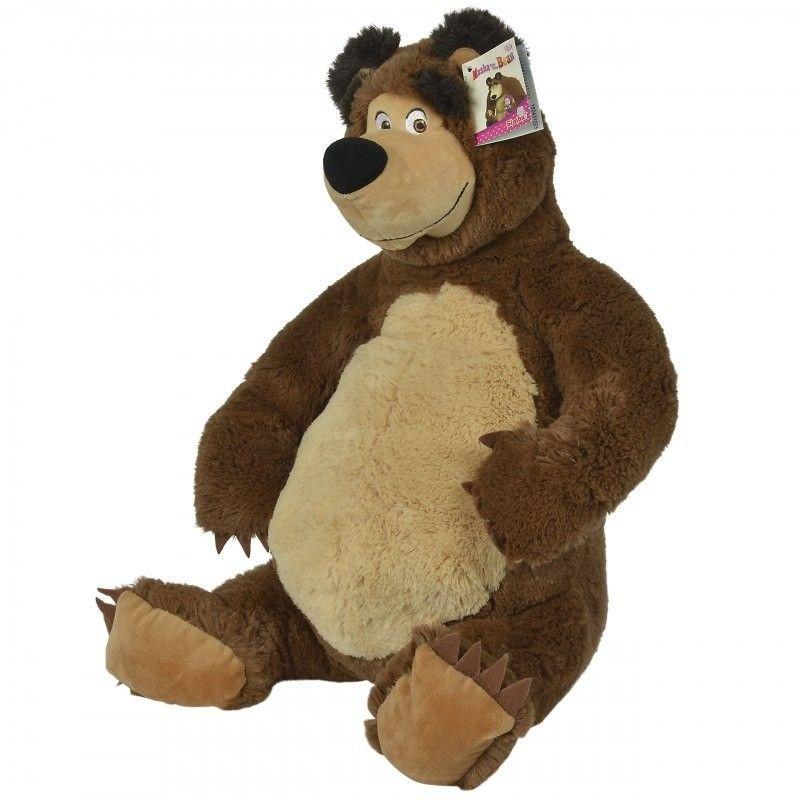 Pluszowy niedźwiedź Misza 50 cm Simba Masza i Niedźwiedź maskotka Pluszak