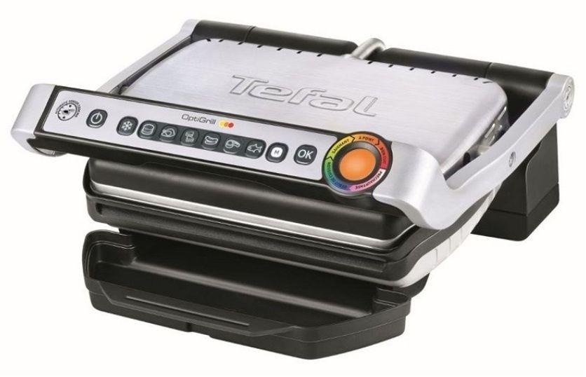 Tefal Optigrill+ elektryczny grill kontaktowy TEFAL GC712D34