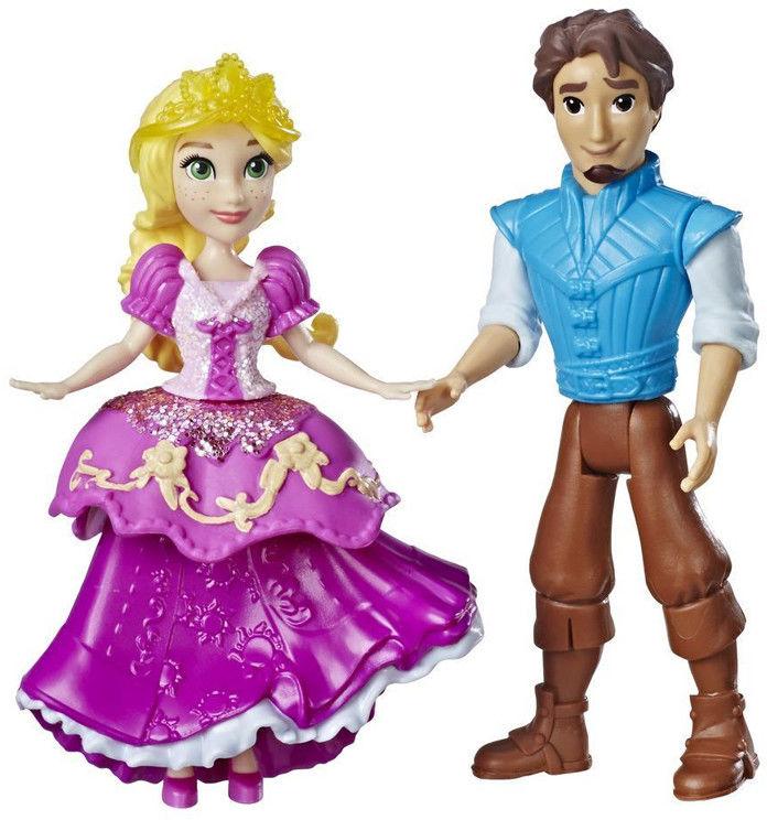 Hasbro Disney Princess - Mała laleczka para - Księżniczka Roszpunka i Flynn E3081