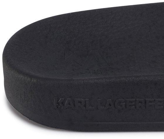 KARL LAGERFELD Klapki KL80908 Czarny