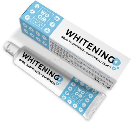 WOOM Family Whitening - wybielająca pasta do zębów dla całej rodziny 75 ml