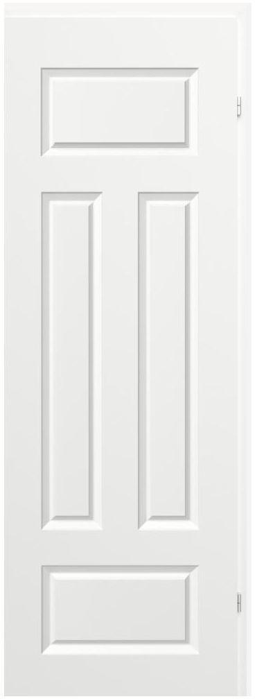 Skrzydło drzwiowe bierne MORANO Białe 70 Prawe CLASSEN