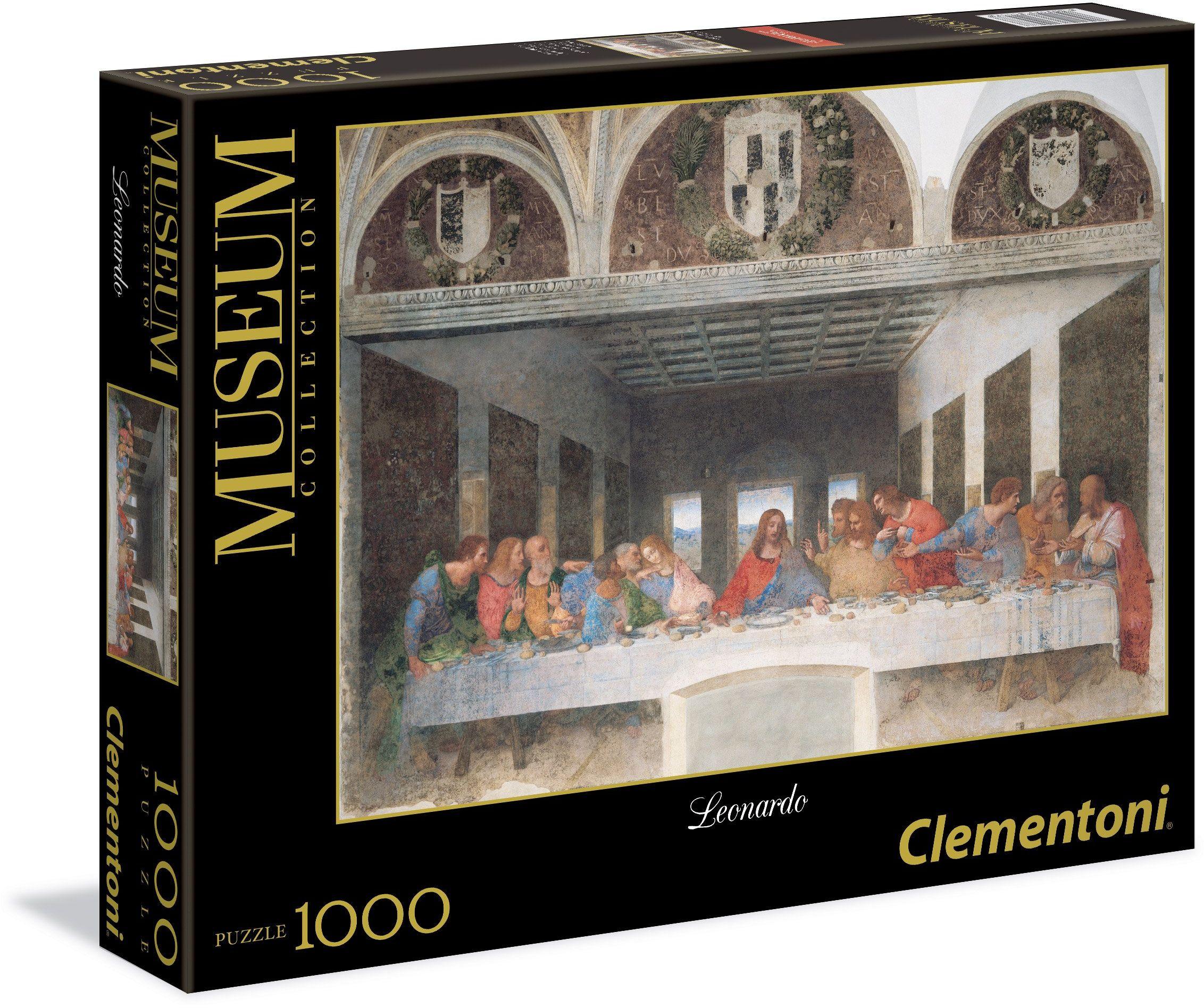 Clementoni 31447.8  Leonardo  Wieczór 1000 części