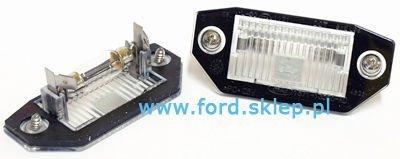 lampka oświetlenia tablicy rejestracyjnej Ford Mondeo mk3  1341810