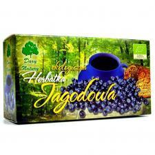 Herbatka JAGODOWA BIO (25 x 3 g) Dary Natury