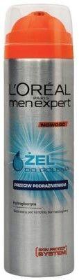 L''Oreal Men Expert Power Żel do golenia przeciw podrażnieniom 200ml