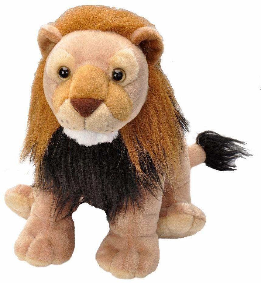 Wild Republic 19357 pluszowy lew, Cuddlekins przytulanka zwierzątko pluszowe, 30 cm