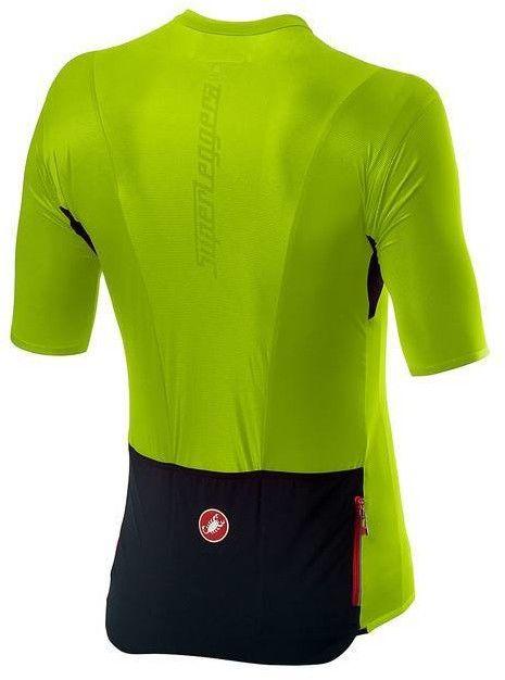 Superleggera 2 CHARTREUSE - Koszulka kolarska Castelli