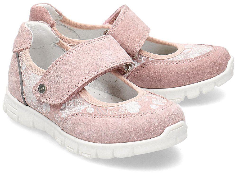 Bartek - Baleriny Dziecięce - 55026-PET - Różowy