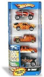 Mattel Hot Wheels Pięciopak 18060