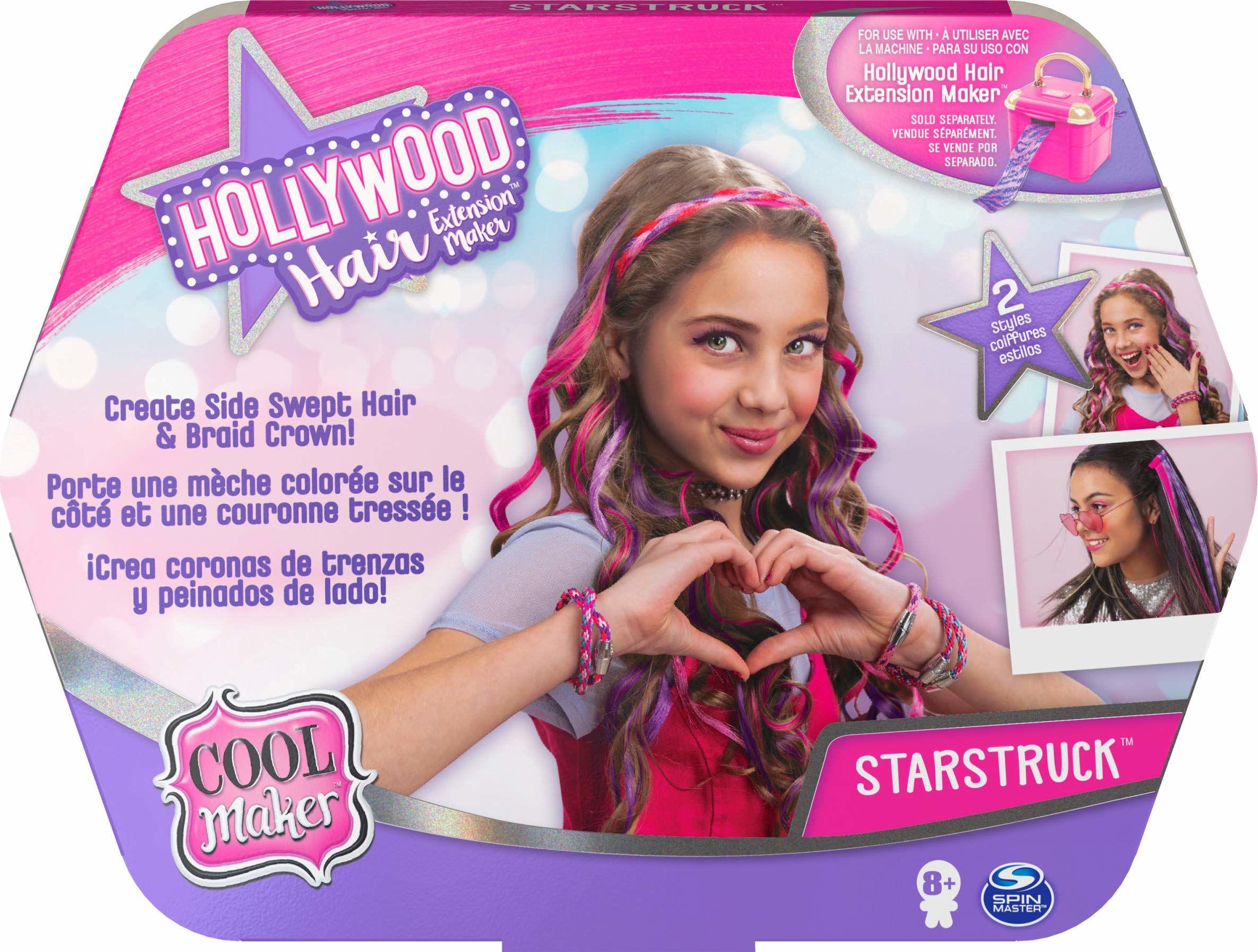 Cool Maker, Hollywood Hair zestaw uzupełniający do salonu fryzjerskiego, dla dzieci od 8 lat-losowy model