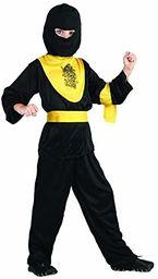 P ''tit clown kostium dziecięcy Ninja  czarny/żółty