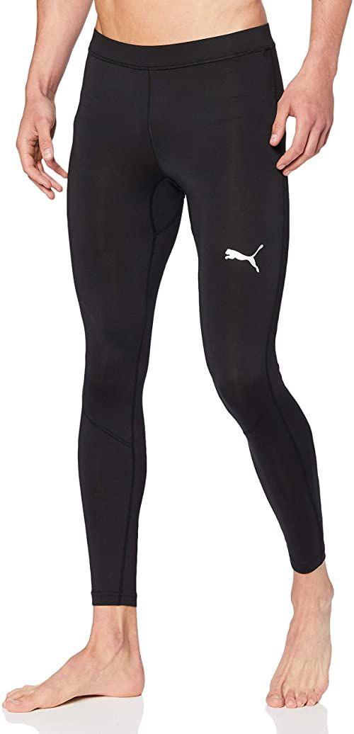 Puma Męskie Legginsy z Długimi Nogawkami Liga Baselayer Long Tight, Czarny (Puma Black), L, 655925
