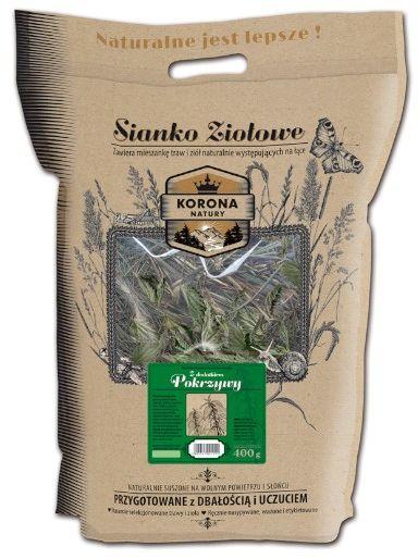 Korona Natury sianko ziołowe z pokrzywą 400g