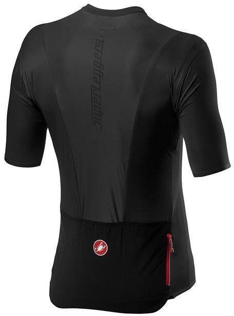 Superleggera 2 Light Black - Koszulka kolarska Castelli