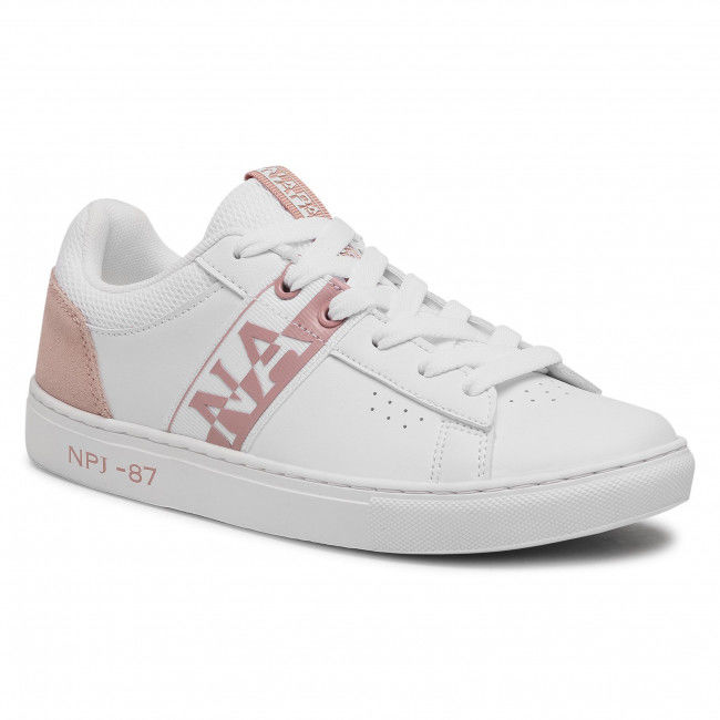 Sneakersy NAPAPIJRI - Willow NP0A4FKT White/Pink 02U1