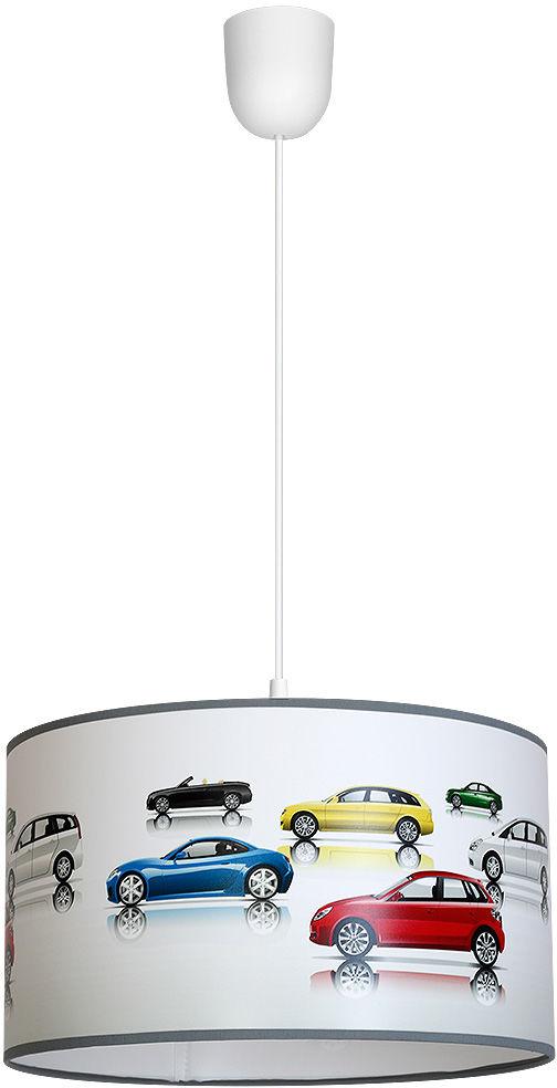 Milagro CARS MLP851 lampa wisząca dziecięca metalowa PVC auta 1xE27 30cm