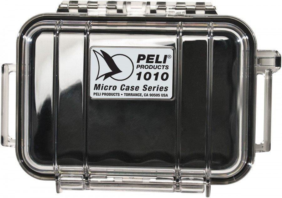 Peli 1010 przeźroczysta - wodoodporna, skrzynia transportowa