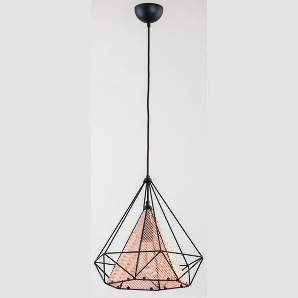 Lampa sufitowa COPPER NET miedź