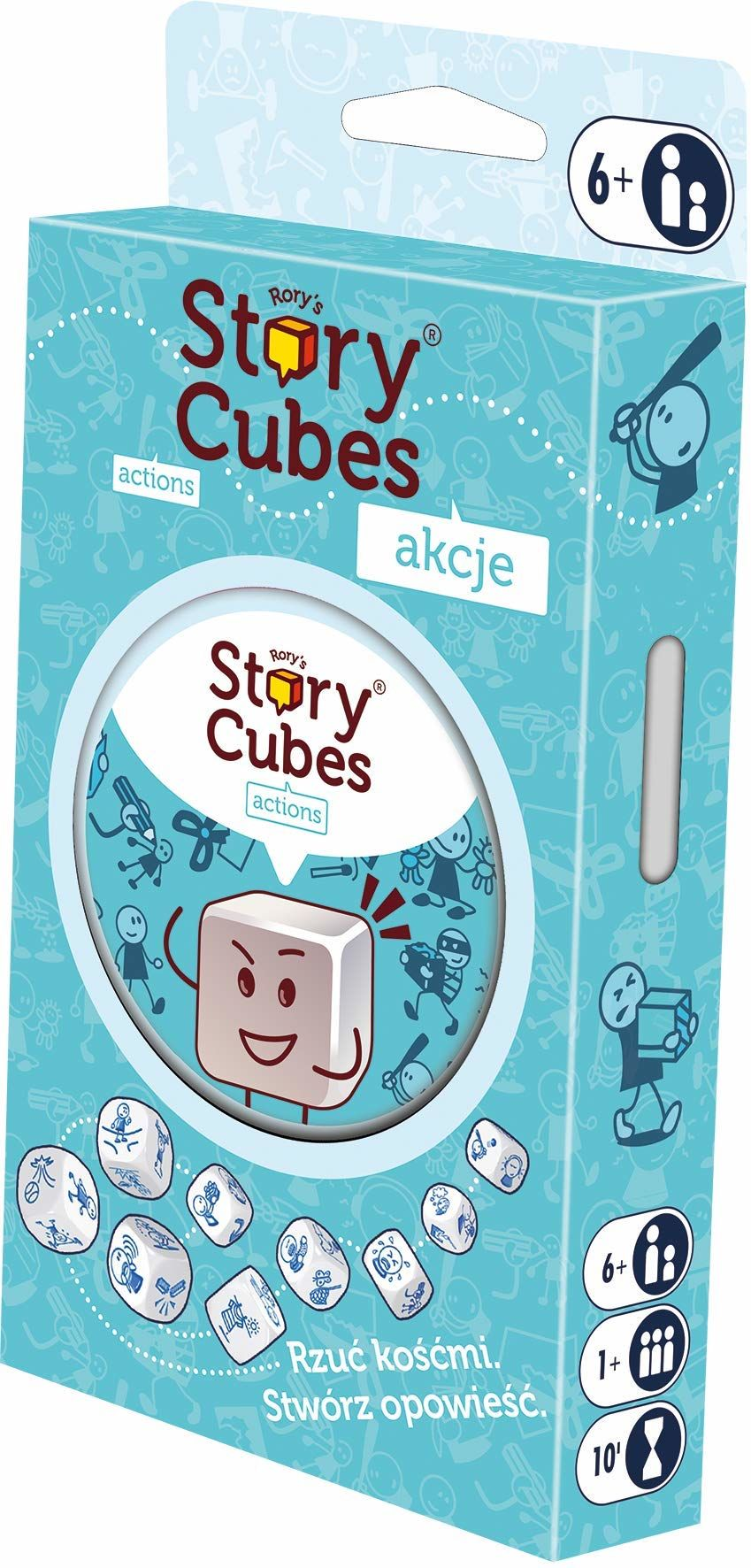 Rebel ASMRSC302PL Story Cubes: Akcje (Nowa Edycja)