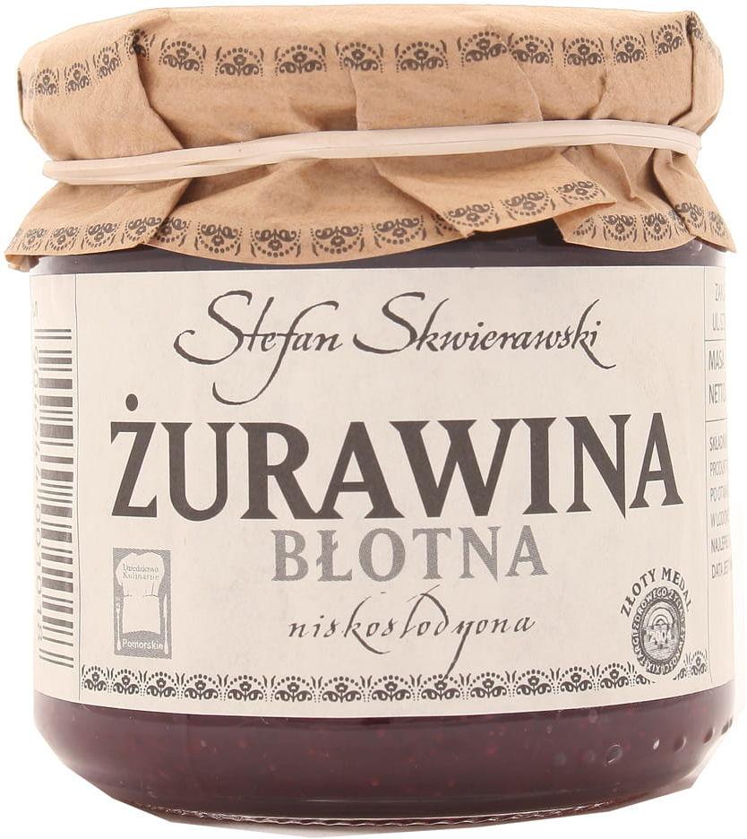 Żurawina błotna niskosłodzona - Skwierawski - 200g