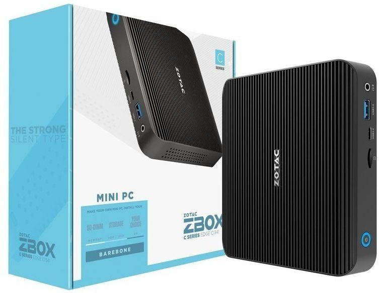 ZOTAC Mini PC CI341 EDGE Celeron N4100 2DDR4/SODIMM HDMI/DP