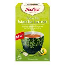 Herbatka zielona z cytryną i matchą bio (17x1,8g) Yogi Tea