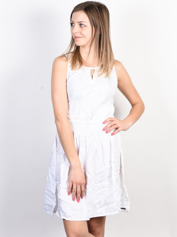 Element SOMEONE OPTIC WHITE krótkie sukienki - L