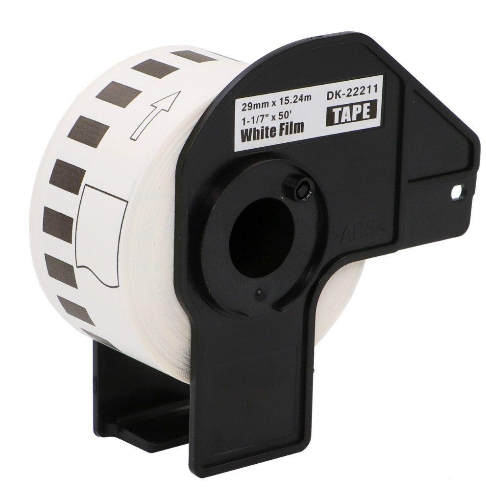 Taśma Brother DK-22211 folia 29mm x 15.24m do drukarki etykiet QL - zamiennik OSZCZĘDZAJ DO 80% - ZADZWOŃ! 730811399