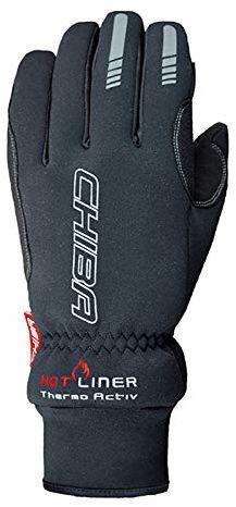 Chiba Męskie rękawiczki termoaktywne, czarne, S
