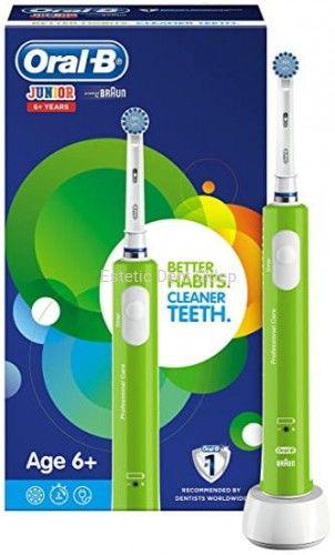 Braun Oral-B Junior Sensitive - szczoteczka elektryczna dla dzieci powyżej 6 lat