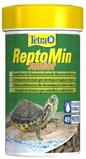 Tetra ReptoMin Junior - pokarm dla dorastających żółwi wodno-lądowych