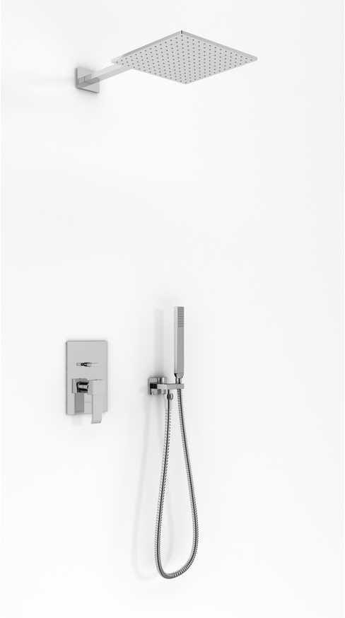 Kohlman zestaw prysznicowy podtynkowy QW210NQ25 AXIS