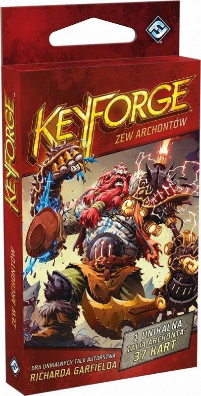 KeyForge: Zew Archontów - Talia Archonta ZAKŁADKA DO KSIĄŻEK GRATIS DO KAŻDEGO ZAMÓWIENIA