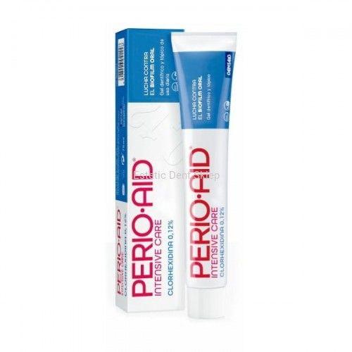 Dentaid Perio Aid Intensive Care Gel - pasta do zębów w żelu przeciw płytce nazębnej 75 ml