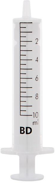 Strzykawka BD-10 ml / op.100 szt Dwuczęściowa, jednorazowa