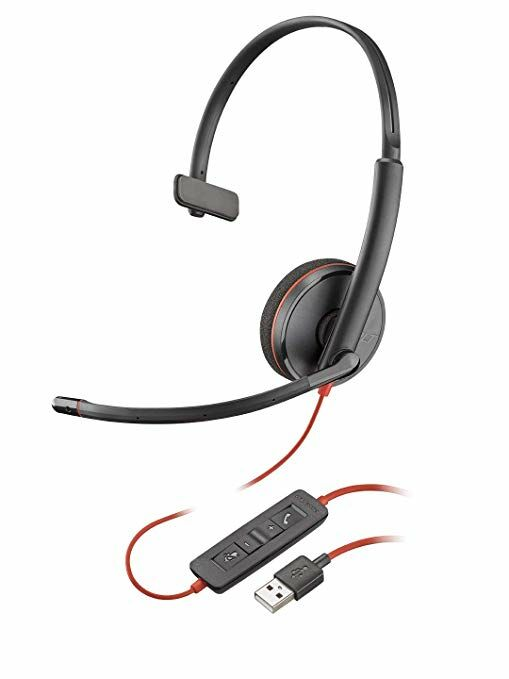 Plantronics Blackwire C3210 Zestaw nagłowny na jedno ucho ze złączem USB