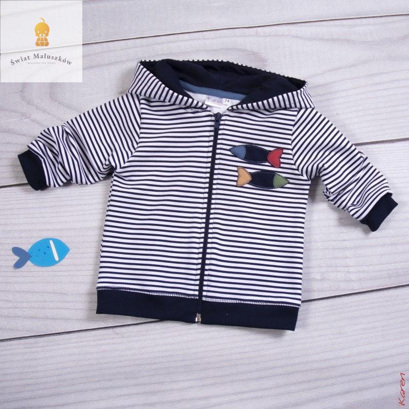 Bluza Rybki rozpinana KAREN r. 68-98