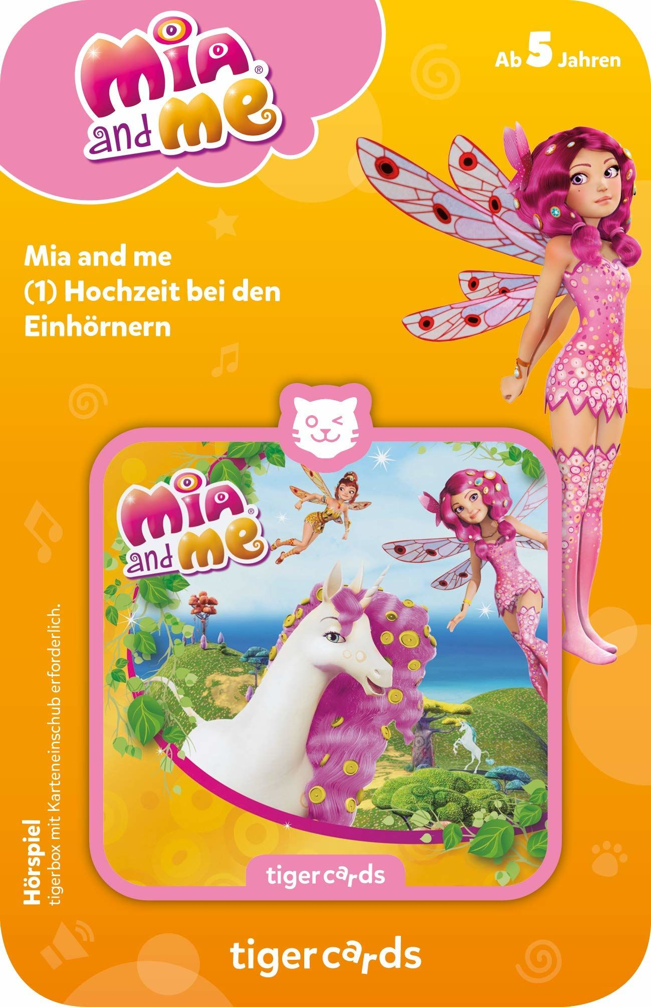 Tiger Media 4143 tigercard-Mia and me-Fokge 2: ślub u jednorożców