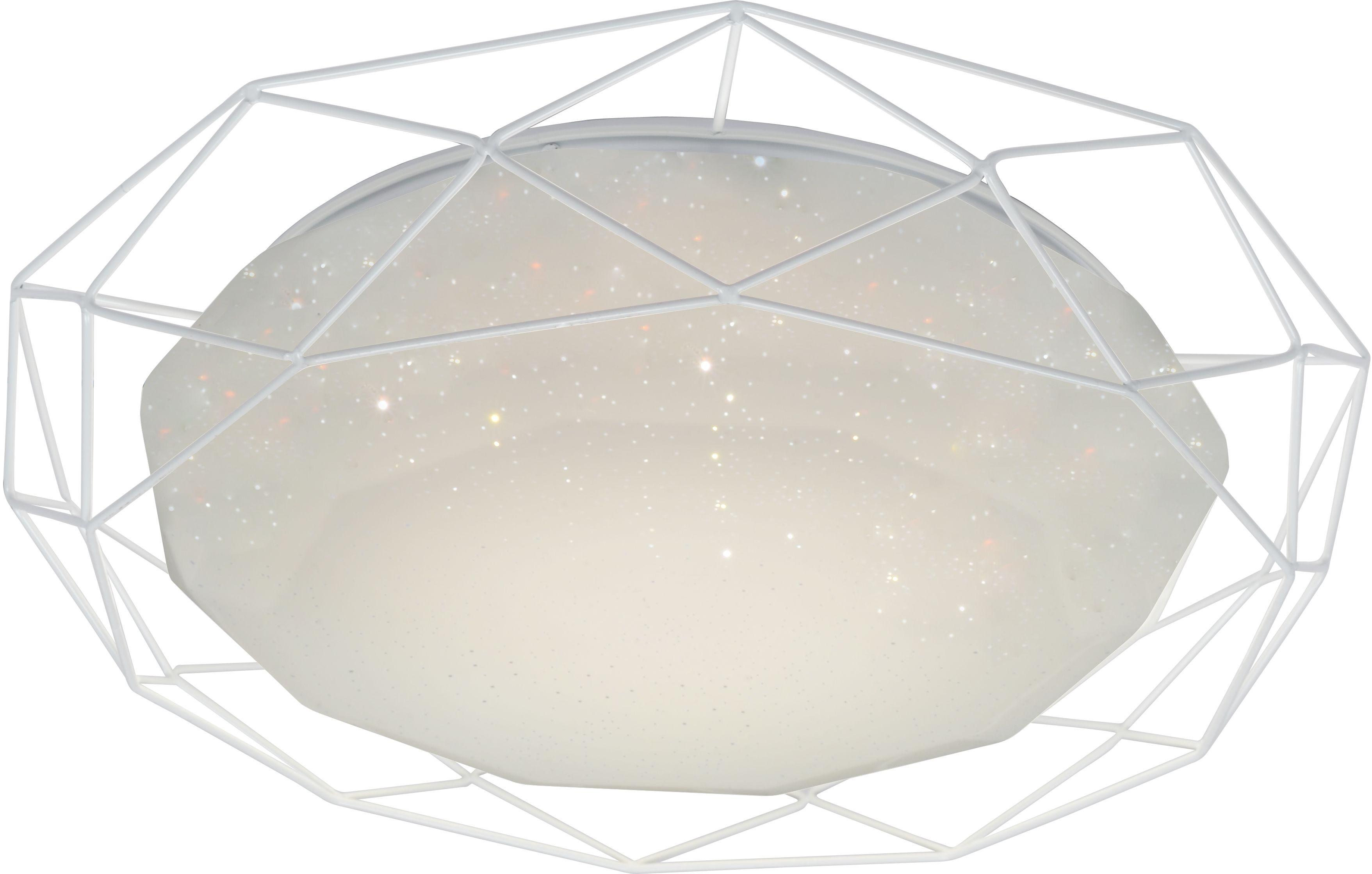Candellux SVEN 98-66251 plafon lampa sufitowa akrylowy klosz biały 24W LED 3000K 43cm