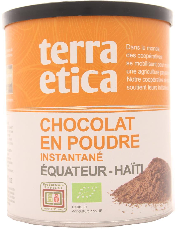 Czekolada w proszku instant - Fair Trade BIO - Terra etica - 400g