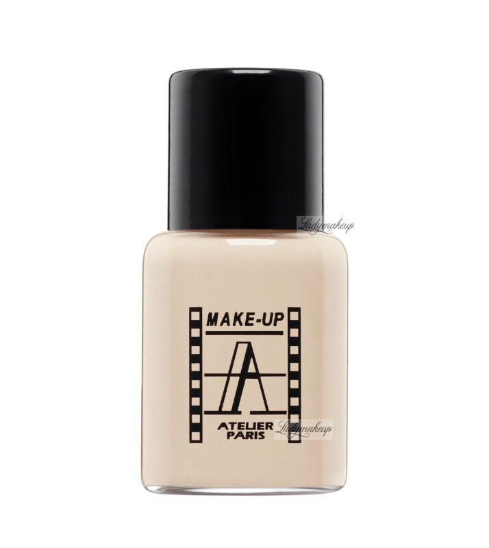 Make-Up Atelier Paris - Waterproof Liquid Foundation - Fluid / Podkład WODOODPORNY - 5ml - 5FLW2NB - ULTRA BEIGE CLEAR