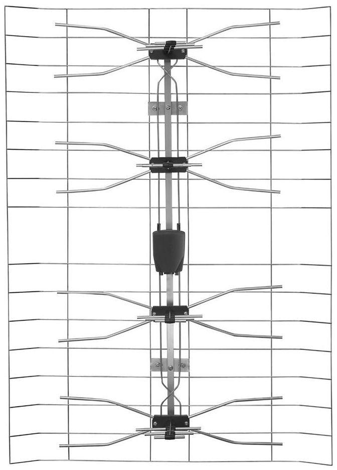 Antena VHF / UHF / FM HN15ECO 40 DPM