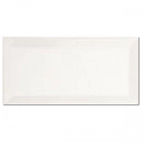APE Biselado Blanco Brillo 10x20 cm