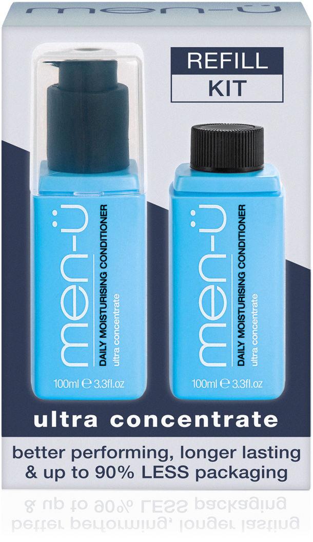 men-u refill kit - odżywka nawilżająca do włosów 2x100 ml