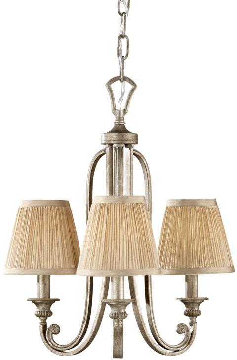 Lampa wisząca Abbey FE/ABBEY3 Feiss potrójna oprawa w klasycznym stylu