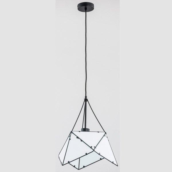 Lampa sufitowa ROMBUS BLACK 38cm - czarny 38
